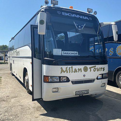 Аренда автобуса Scania 49 мест