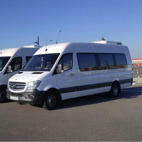 Аренда микроавтобуса Мерседес Спринтер 20 мест